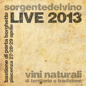 sorgentedelvino live 2013