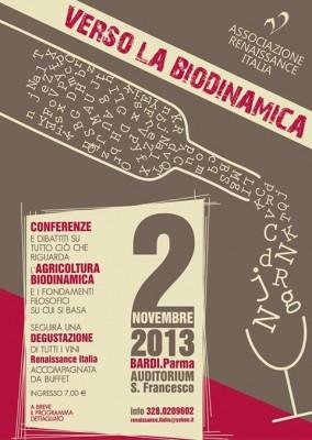 """""""VERSO LA BIODINAMICA"""" 2 Novembre 2013"""