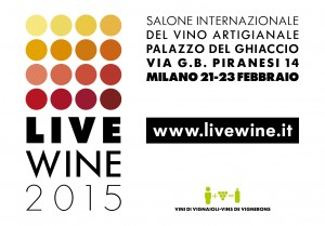 Cartolina LIVE WINE